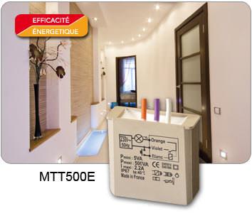 Télérupteur temporisé MTT500E- Gamme 500W