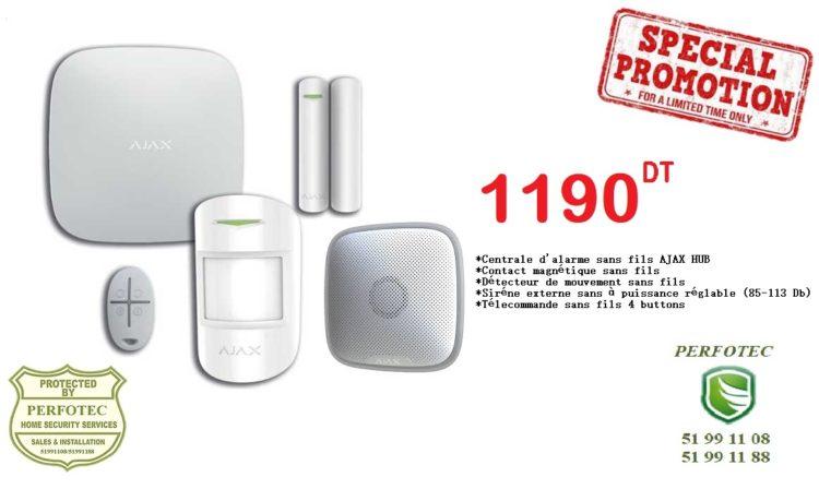 kit alarme sans fil ajax