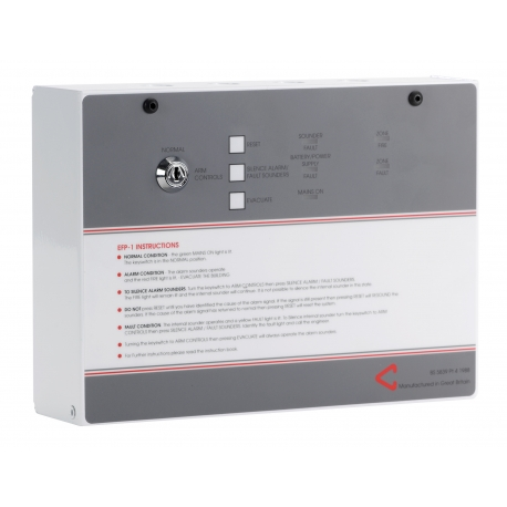 ff380-2-efp1-single-zone-conventional-fire-alarm-panel