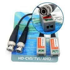 Fiche Vidéo Balun pour camera de surveillance HD-CVI/TVI/AHD