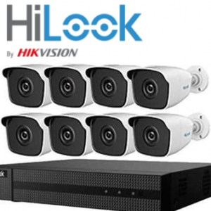 PACK HILOOK BY HIKVISION 8 POE IP